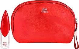 Parfums et Produits cosmétiques Naomi Campbell Glam Rouge - Set (eau de toilette/15ml + trousse de toilette)
