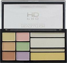 Parfums et Produits cosmétiques Palette de correcteurs colorés pour visage - Makeup Revolution HD Correct and Perfect Palette