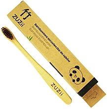 Parfums et Produits cosmétiques Brosse à dents en bambou souple, marron - Zuzii Kids Soft Toothbrush