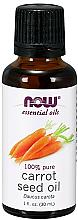 Parfums et Produits cosmétiques Huile essentielle de graines de carotte - Now Foods Essential Oils 100% Pure Carrot Seed Oil