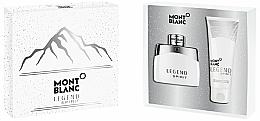 Parfums et Produits cosmétiques Montblanc Legend Spirit - Coffret (eau de toilette/50ml + gel douche/100ml)