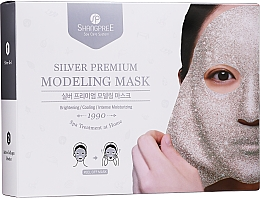 Parfums et Produits cosmétiques Shangpree Silver Premium Modeling Mask - Set (gel/5x50g + poudre/5x4,5g)