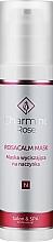 Parfums et Produits cosmétiques Masque à l'extrait de marron d'Inde pour visage - Charmine Rose Rosacalm Mask