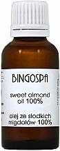 Parfums et Produits cosmétiques Huile d'amande douce 100% - BingoSpa