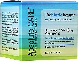 Parfums et Produits cosmétiques Crème-gel à l'extrait de miel pour visage - Absolute Care Prebiotic Beauty Balancing&Mattifying Cream-Gel