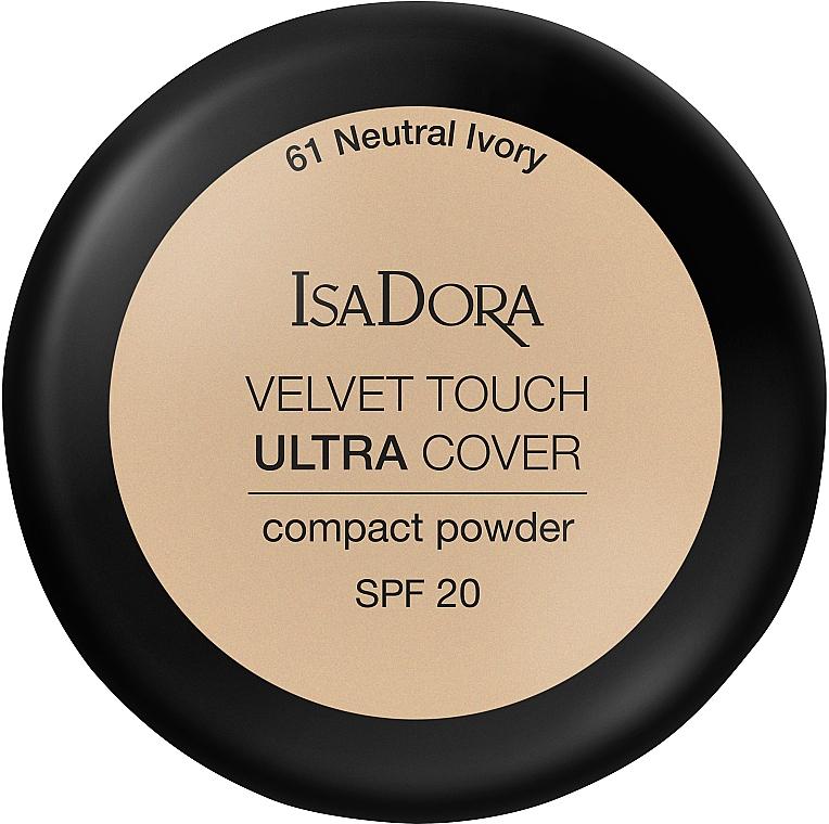 Poudre compacte pour visage - IsaDora Velvet Touch Ultra Cover Compact Powder SPF 20