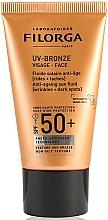 Parfums et Produits cosmétiques Fluide solaire anti-âge pour visage - Filorga UV-Bronze Face Anti-Ageing Sun Fluid SPF50+