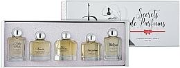 Parfums et Produits cosmétiques Charrier Parfums Secrets De Parfums - Set (eau de parfum/9.9ml + eau de parfum/10.5ml + eau de parfum/9.9ml + eau de parfum/9.9ml + eau de parfum/9.8ml)