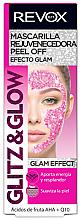 Parfums et Produits cosmétiques Masque peel-off aux acides AHA pour visage - Revox Glitz & Glow Bio Regulating Peel Off Mask Pink