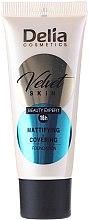 Parfums et Produits cosmétiques Fond de teint matifiant - Delia Mineral Velvet Skin