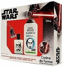 Parfums et Produits cosmétiques Corine de Farme Star Wars - Set (eau de toilette/50ml +gel douche/250ml + accessories)