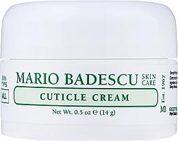 Parfums et Produits cosmétiques Crème pour cuticules - Mario Badescu Cuticle Cream