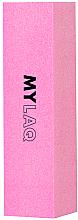 Parfums et Produits cosmétiques Bloc polissoir pour ongles, 240 grain, rose - MylaQ