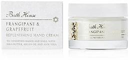 Parfums et Produits cosmétiques Bath House Frangipani & Grapefruit - Crème pour mains, Frangipanier et Pamplemousse