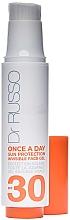 Parfums et Produits cosmétiques Gel solaire pour visage - Dr. Russo Once A Day Sun Protection Invisible Face Gel SPF 30