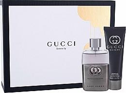 Parfums et Produits cosmétiques Gucci Guilty Pour Homme - Coffret (eau de toilette/50ml + gel douche/50ml)