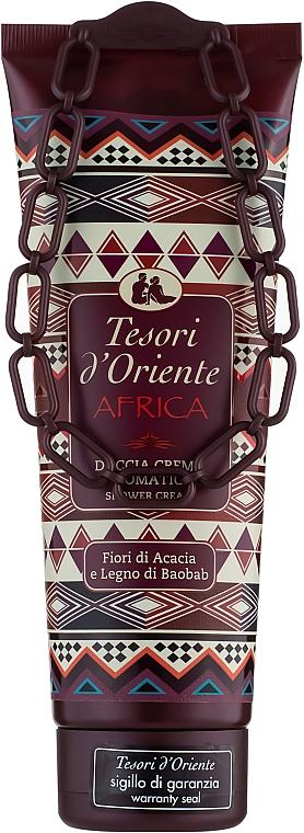 Tesori d`Oriente Africa - Crème de douche, Fleurs d'acacia et Bois de baobab