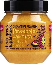 Parfums et Produits cosmétiques Gommage au poudre pour corps - MonoLove Bio Pineapple-Jamaica Tonus & Smoothness Scrub