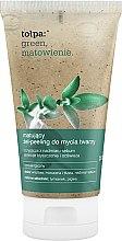 Parfums et Produits cosmétiques Gel exfoliant aux particules de cassis et extrait de thym pour visage - Tolpa Green Mattifying Gel-Scrub