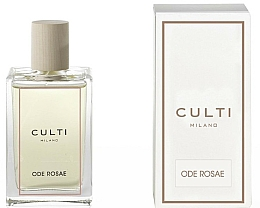 Parfums et Produits cosmétiques Spray d'ambiance, Rose - Culti Milano Room Spray Ode Rosae