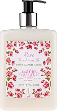 Parfums et Produits cosmétiques Crème lavante au beurre de karité, parfum rose - Institut Karite Rose Mademoiselle Shea Cream Wash