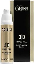 Parfums et Produits cosmétiques Gigi 3D Hyalu Fill Multi Power H.A. Booster - Crème à l'acide hyaluronique et extrait d'aloès pour visage