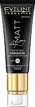 Parfums et Produits cosmétiques Fond de teint mat longue tenue - Eveline Cosmetics Matt My Day Mattifying Foundation