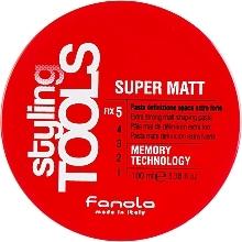 Parfums et Produits cosmétiques Pâte coiffante matifiante, fixation extra forte - Fanola Tools Super Matt Paste