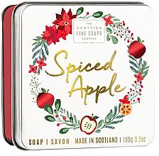 Parfums et Produits cosmétiques Savon en boîte métallique Pomme épicée - Scottish Fine Soaps Spiced Apple Soap
