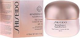 Parfums et Produits cosmétiques Crème de jour - Shiseido Benefiance NutriPerfect Day Cream SPF 15