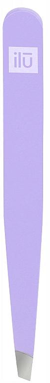 Pince à épiler, violet - Ilu
