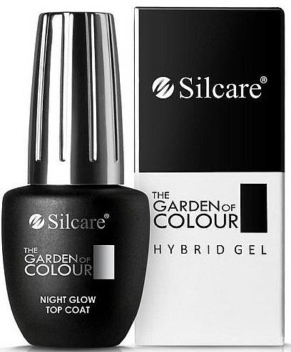 Top coat pour vernis gel - Silcare The Garden of Colour Night Glow Top Coat