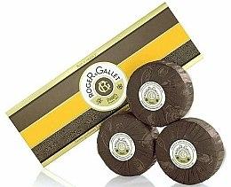 Parfums et Produits cosmétiques Roger & Gallet Bois D'Orange Perfumed Soaps - Set (savons/3x100g )