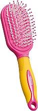 Parfums et Produits cosmétiques Brosse à cheveux massant pour enfants, jaune et rose - Titania