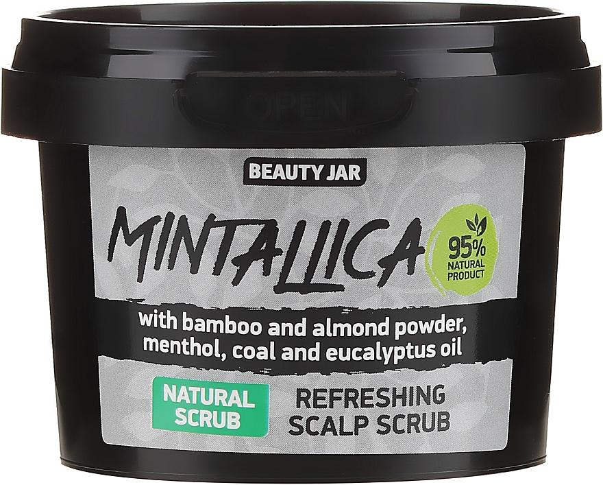 Gommage rafraîchissant pour cuir chevelu - Beauty Jar Mintallica Refreshing Scalp Scrub