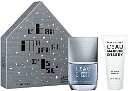 Parfums et Produits cosmétiques Issey Miyake L'Eau Majeure D'Issey - Coffret (eau de toilette/ 50ml + gel douche/100ml)