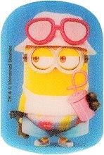 Parfums et Produits cosmétiques Éponge de bain pour enfants, Minions, Dave en rose - Suavipiel Minnioins Bath Sponge