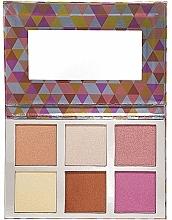 Parfums et Produits cosmétiques Palette de maquillage, effet éclat - Bellapierre Glowing Palette 2