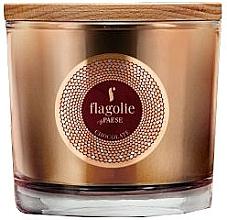 Parfums et Produits cosmétiques Bougie parfumée à la cire de soja, Chocolat - Flagolie Fragranced Candle Chocolate