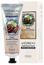 Parfums et Produits cosmétiques Crème au filtrat de bave d'escargot pour mains - Juno Medibeau Snail Hand Cream