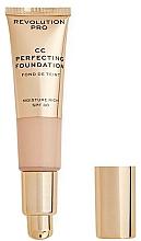 Parfums et Produits cosmétiques CC crème pour visage - Revolution Pro CC Cream Perfecting Foundation SPF 30