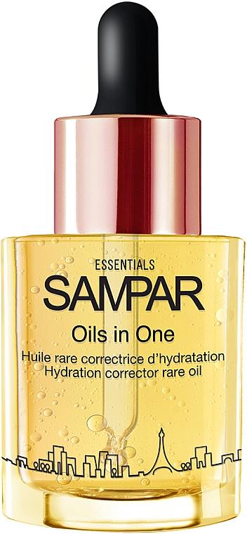 Huile correctrice d'hydratation à l'acide hyaluronique pour visage - Sampar Oils in One
