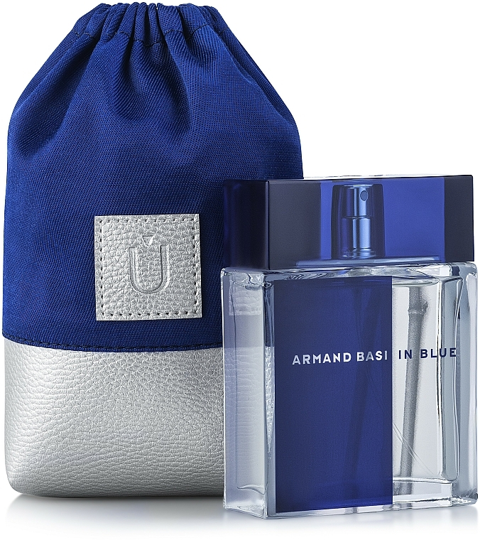 Pochette universelle bleue pour parfum Perfume Dress, (15 x 10 x 6 cm) - MakeUp