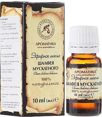 Huile essentielle de sauge 100% naturelle - Aromatika — Photo N1