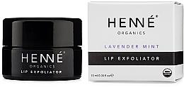 Parfums et Produits cosmétiques Gommage à l'huile de lavande et menthe poivrée pour lèvres - Henne Organics Lavender Mint Lip Exfoliator