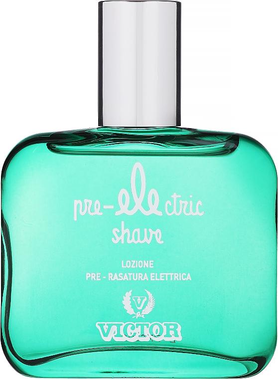 Victor Pre Electric After Shave - Lotion pré-rasage au parfum méditerranéen — Photo N1