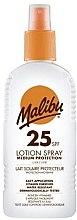 Parfums et Produits cosmétiques Lait solaire pour corps - Malibu Sun Lotion Spray Medium Protection Water Resistant SPF 25