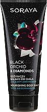 Parfums et Produits cosmétiques Baume à l'huile d'abyssinie pour corps - Soraya Black Orchid & Diamonds Nourishing Body Balm