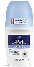 Parfums et Produits cosmétiques Déodorant roll-on sans alcool - Felce Azzurra Deo Roll-on IdraTalc Classic