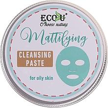 Parfums et Produits cosmétiques Pâte nettoyante pour visage - ECO U Mattifying Cleansing Paste For Oily Skin